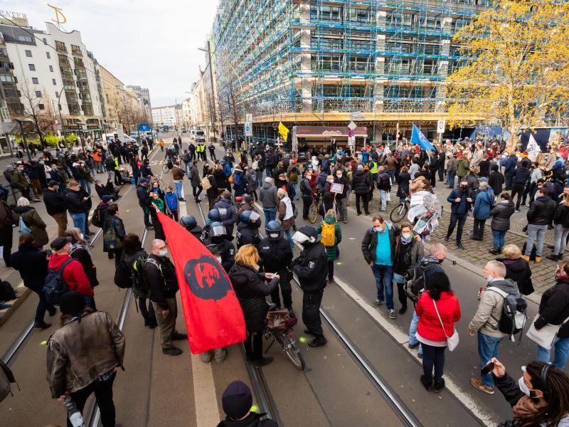 Protest in Berlin