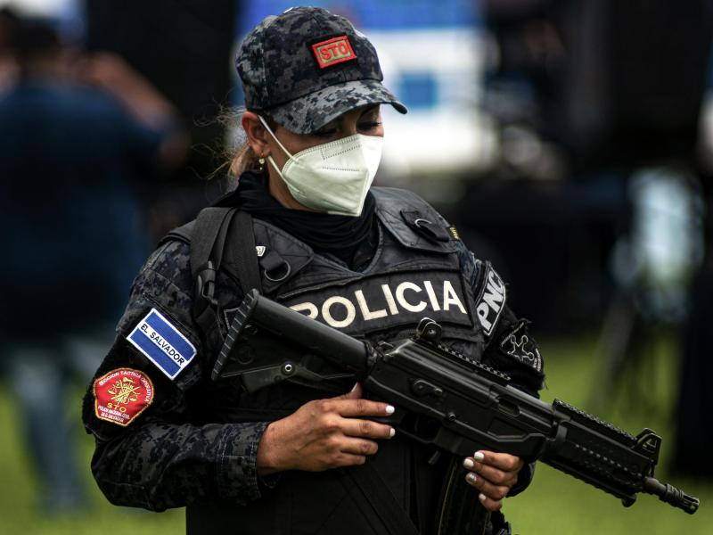 Polizei in El Salvador